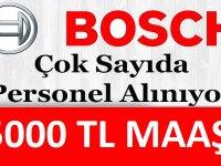 Bosch FİRMASI İstanbul, Manisa, Bursa  personel alımı yapılacaktır.