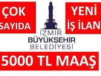 İzmir Büyükşehir Belediyesi 2021 yılı 56 İşçi , Memur , Şoför Alacaktır