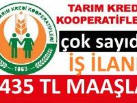 Tarım Kredi Kooperatifleri 2021 YILI  Ocak ayı iş ilanları