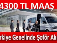 Türkiye geneli şöför alımları TYP kapsamında