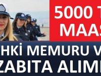 Belediye KPSS 60 Puanla Zabıta ve VHKİ Memurları Alacaktır