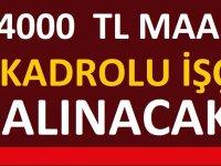 Tokat Belediyesi 4 Bin TL Maaşla 14 Kadrolu işçi Alıyor
