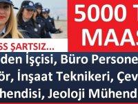 Muğla Büyükşehir Belediyesi çok sayıda personel alacaktır