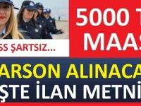 İzmir Belediyesi şirketi Grand Plaza Daimi Garson alımı yapılacak.
