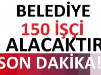 Elazığ Belediyesi, 150 İşçi Alacak.
