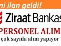 Ziraat Bankası 80 PERSONEL ALACAKTIR