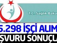 Sağlık Bakanlığı 5298 Kadrolu Daimi İşçi Alımı Göreve Başlama Duyurusu