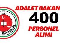 Adalet Bakanlığı 400 İcra Müdür Yardımcısı Kamudan Kariyer Alım İlanı