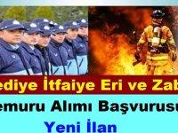 Safranbolu Belediyesi itfaiye eri ve zabıta memuru alacak.