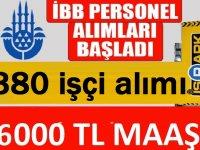 İstanbul Belediyesi şirketi Çevre Yönetimi,toplam 380 işçi Alacaktır