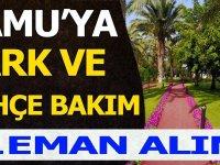 Akşehir Belediyesi, Park Bahçe İşçisi, 10 İşçi Alacak.