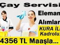 Afyonkarahisar Sandıklı belediyesi kura ile çaycı alımı yapacak.