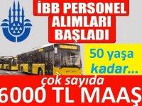 İBB Büyükşehir Belediyesi personel alımı kadro dağılımı