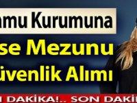 İstanbul Büyükşehir Belediye şirketiİstgüven güvenlik görevlisi alacaktır