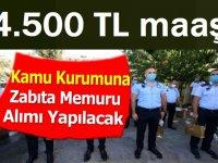 Ankara Büyükşehir Belediyesi 250 zabıta iş ilanı değişti!