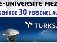 Türksat iş başvuru ekranı açılmıştır