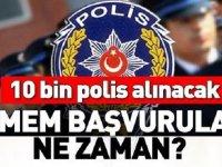 POMEM 10 Bin Polis Alımı Başvuruları Bekleniyor