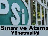 Devlet Su İşleri Genel Müdürlüğü Sınav ve Atama Yönetmeliği Değiştirildi