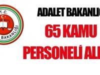 Adalet Bakanlığı 65 kamudan kariyer taşeron işçi yapılıyor
