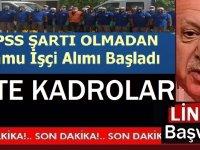 Kırıkkale Belediyesi, yeni Kepçe operatörü, 18 İşçi Alacak