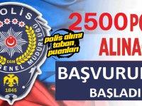 2500 polis alımı yapılacağını açıkladı.