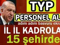İŞKUR sitesi üstünden 650 TYP personel alınacaktır