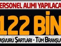 """""""İŞKUR"""" bünyesinde 122 binden fazla açık iş ilanı için yayınladı"""