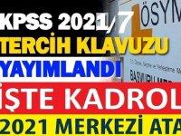 ÖSYM Başkanlığı ÖSYM KPSS 2021/7 BAŞVURULARI