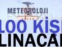 Meteoroloji Genel Müdürlüğüne 89 adet Mühendis ve 11 adet Büro Personeli ALINACAKTIR