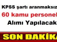 Hasankeyf Belediyesi 60 kamu personeli alımı yapılacak