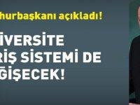 Üniversiteye Geçiş Sistemi Değişiyor