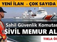 Sahil Güvenlik Komutanlığı KPSS 60 Puan 10 Devlet Memuru Alımı