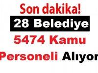 28 Belediye 4374 Kamu Personeli Alıyor ÖZEL HABER