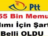 PTT 2019 Devlet memur alım şartları