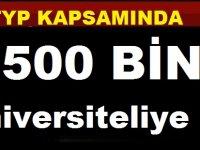 500 Bin üniversiteliye TYP müjdesi! Yönetmelik Resmi Gazetede yayımlandı..