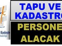 Tapu ve Kadastro Genel Müdürlüğü Kamu Personeli Kariyer İş İlanı
