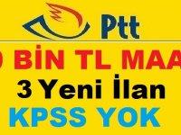 PTT KAMU PERSONELİ ALIMI ALIMI 2019