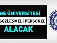 Ege Üniversitesi 147 Devlet Memuru Alım ilanı