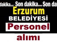 Horasan Erzurum Belediyesi Daimi Sürekli İşçi Alıyor