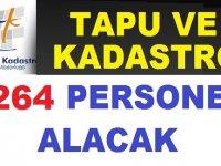 Tapu ve Kadastro Genel Müdürlüğü 264 Kamudan Kariyer Memur Alımı