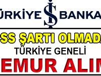 İş Bankası Adana, Kocaeli, Zonguldak ve Gaziantep Şubelerine 25 personel Alıyor
