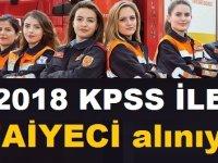 Belediye iş ilanı KPSS 55 puan ile itfaiye eri alımı yapılacak