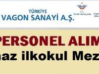 Türkiye Vagon Sanayi Kadrolu Engelli İşçi Alım İlanı