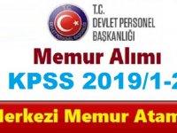 2019 Yılı KPSS Merkezi Atama Takvimi Açıklandı!