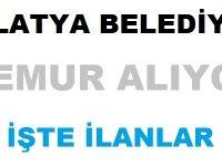 Malatya Yeşilyurt Belediyesi Memur Alıyor