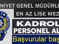 Polis Moral Eğitim Merkezi Müdürlüğü Çok sayıda Kamu Personeli Alımı yapacak