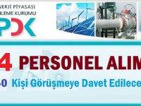Enerji Piyasası Düzenleme Kurumu EPDK Devlet Memuru Alım İlanı