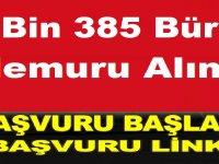 İŞKUR tarafından 2 bin 385 büro memuru alımı yapılacak