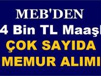 MEB Sözleşmeli 14 Bin TL Maaşla Kamudan Kariyer İş ilanı
