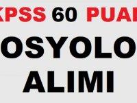 Belediye KPSS 60 Puanla Sosyolog Alım İlanı